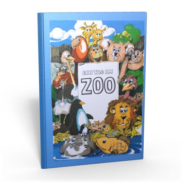 Personalisiertes Kinderbuch Mit Namen Ein Tag Im Zoo