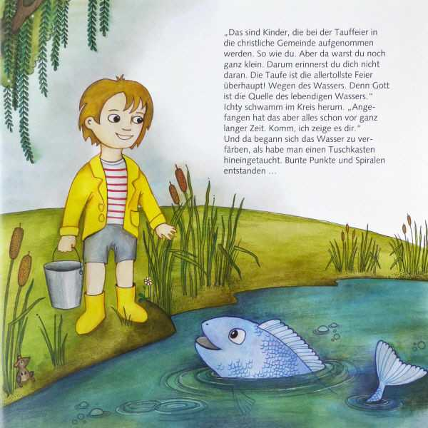 Personalisiete Kinderbibel Mit Namen Geschenk Zur Taufe